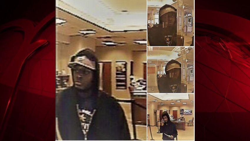 fort worth bank robbers