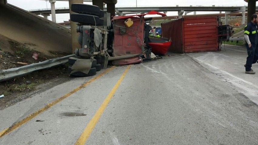 North Loop 820 Shut Down in Fort Worth