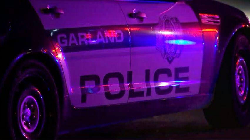 garland police car
