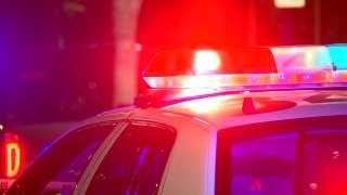 generic police car lights SDPD