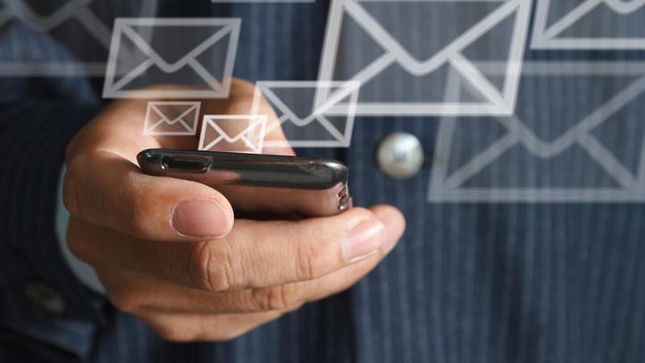 generic mobile email alert