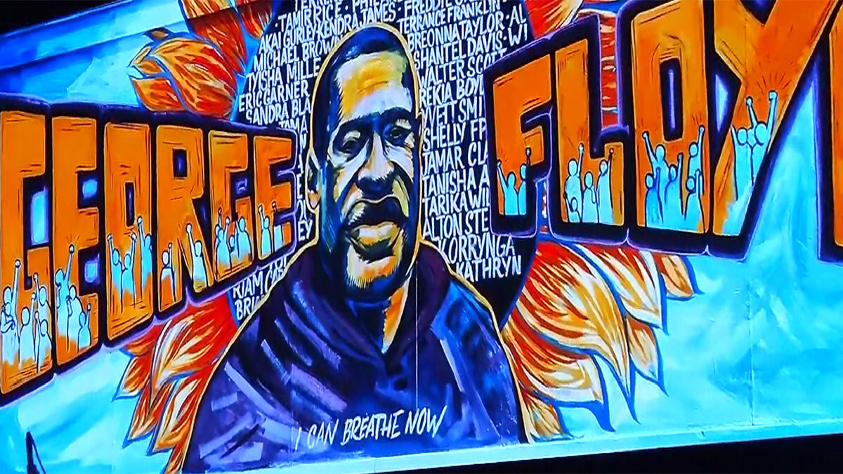 First of 3 Floyd Memorials Held in Minneapolis Thursday, Ends in Houston Monday