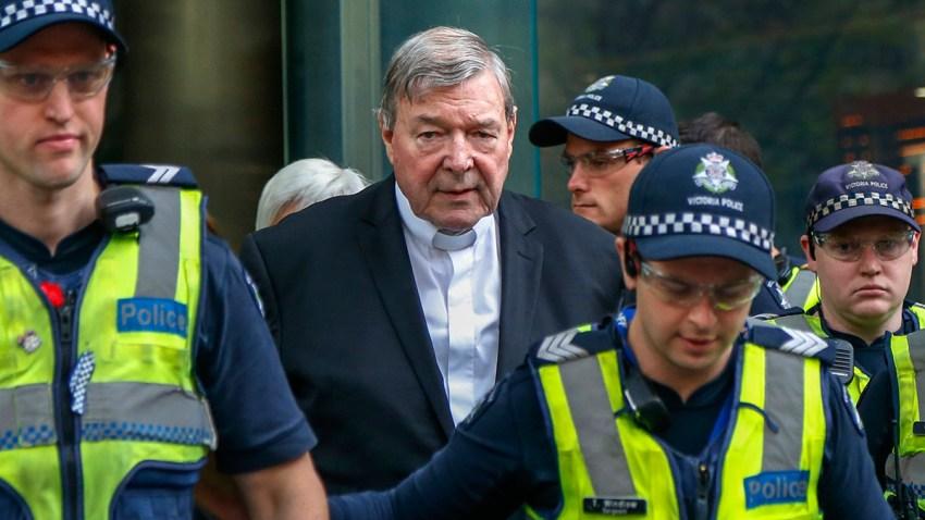 APTOPIX Australia Cardinal Charged