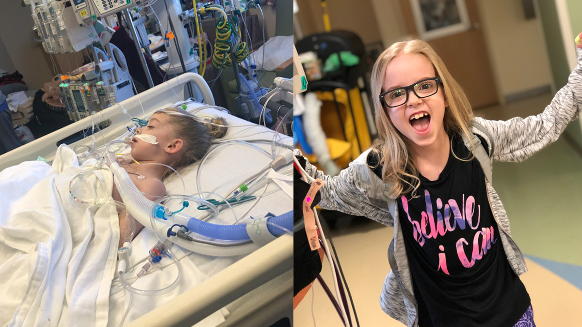 8-Year Old Fort Worth Girl Shares Heart Transplant Journey