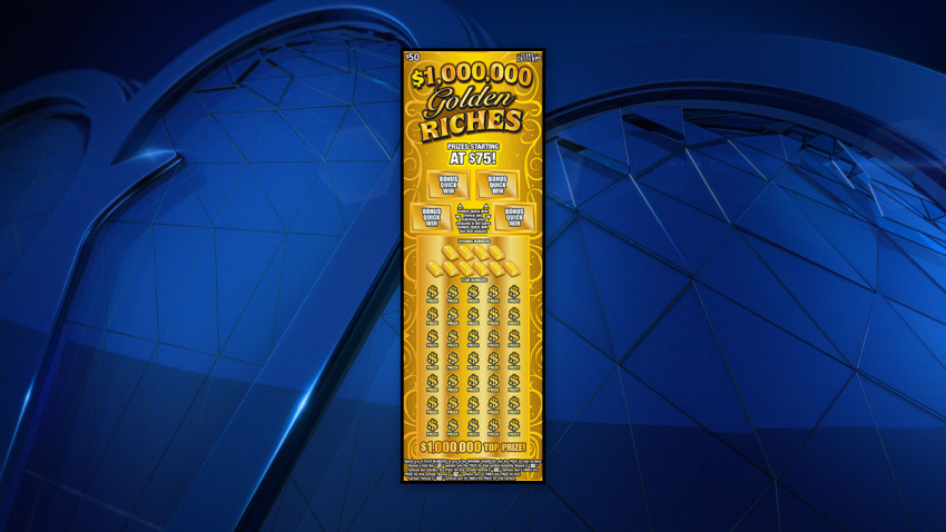 golden riches lottery ticket