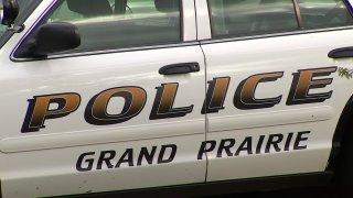 grand prairie police car