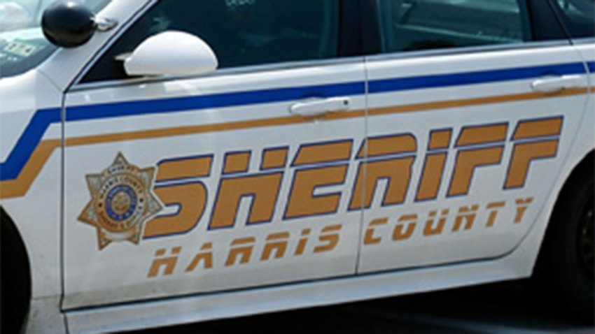 Harris County Sheriff's Deputy patrol car