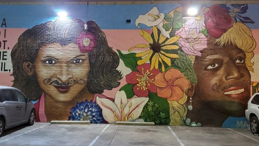Transgender Activist Mural Vandalized in Dallas