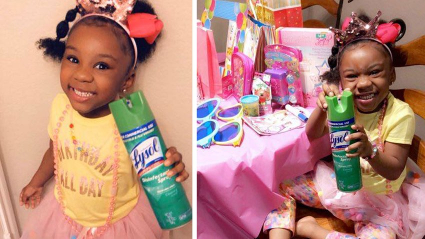 Brittney Bush-Rudd did her best to make sure the her daughter Jacey's fifth birthday was one to remember for all the right reasons while still practicing social distancing.