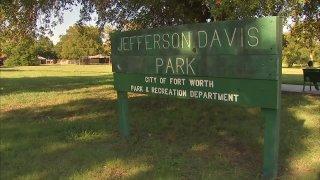 jefferson davis park fort worth