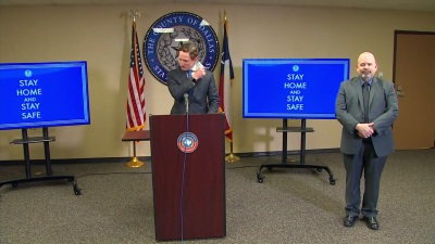 Raw Video: Dallas County Reports Number of New COVID-19 Cases Thursday, 250th Death