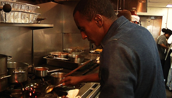 Marcus Samuelsson Shrimp and Grits