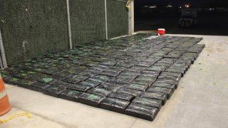 marijuana seized at TX check point