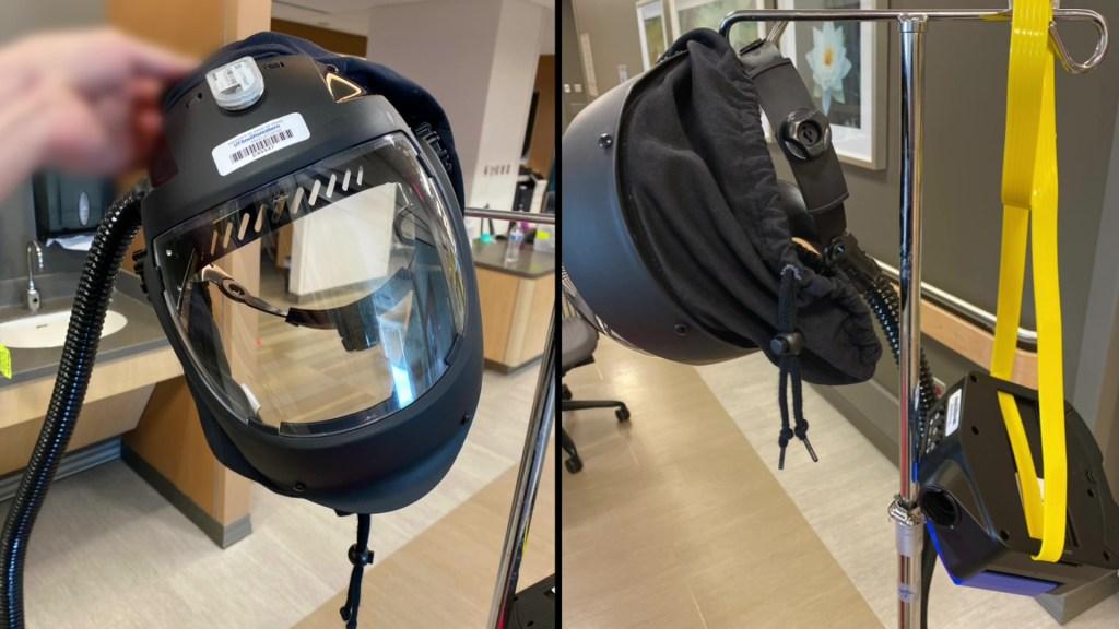 respirator helmet