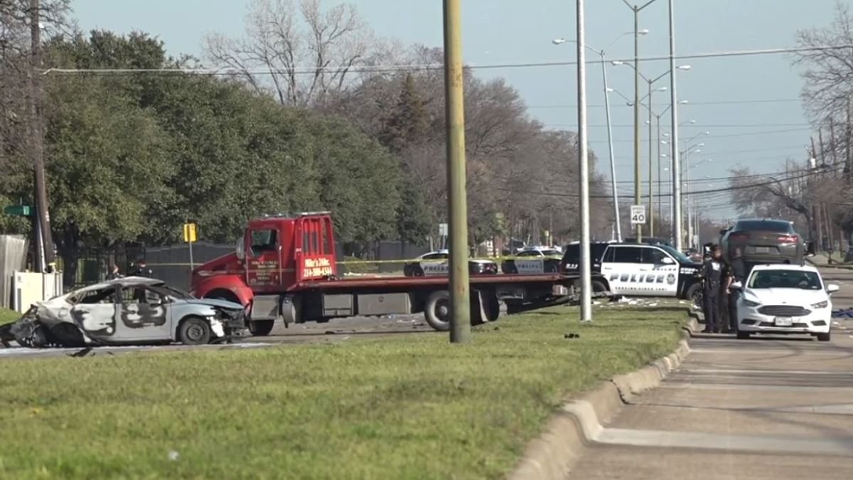 Man Killed When Car Hit by Camaro That Had Been Racing: Dallas Police