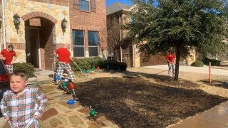 Almost every family that celebrates Christmas has a ridiculous story of how someone got into some shenanigans at some point — but it seems likely that only one McKinney family can say that this December they accidentally set their lawn ablaze with a magnifying glass.