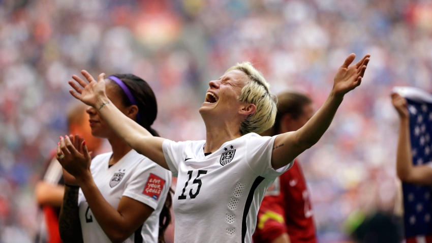 WWCup Japan US Soccer Megan Rapinoe