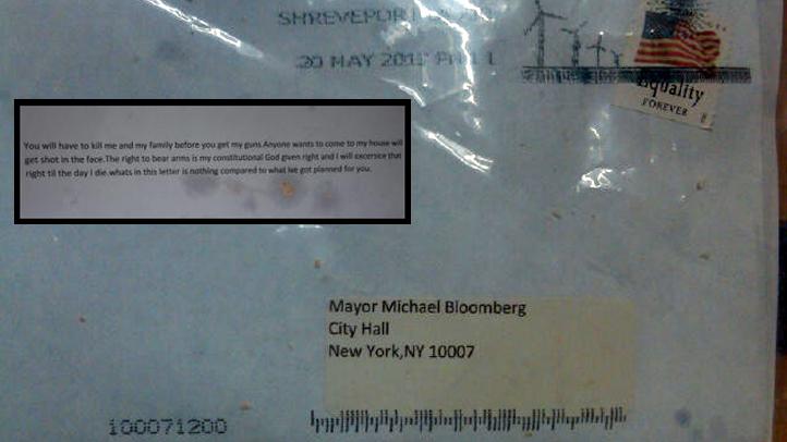 michael bloomberg ricin threat letter