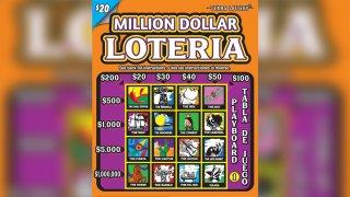 Million Dollar Lotería