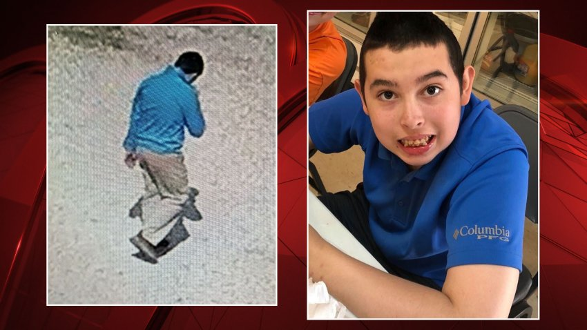A search is underway for a 14-year-old Fort Worth boy with autism who walked away from his Mississippi boarding school nearly a week ago and hasn't been seen since.