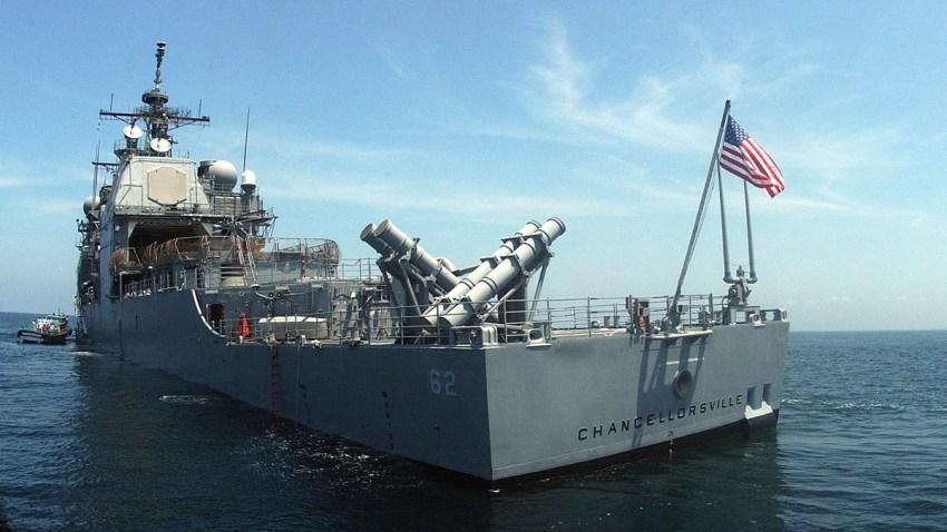 Japan US Russian Ships