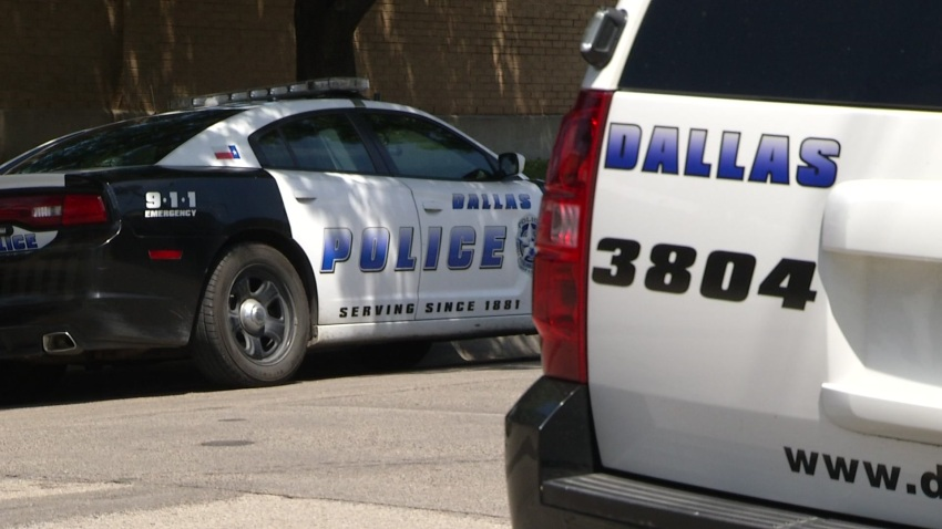 new dallas police car