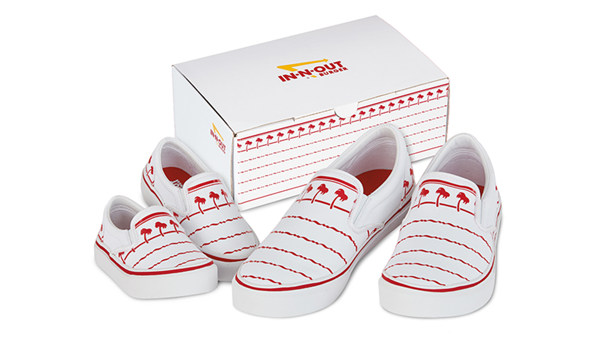 In-N-Out Fans Rejoice: Shoes With Iconic Cup Design Have Arrived