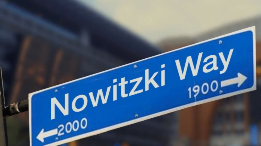 Nowitzki Way