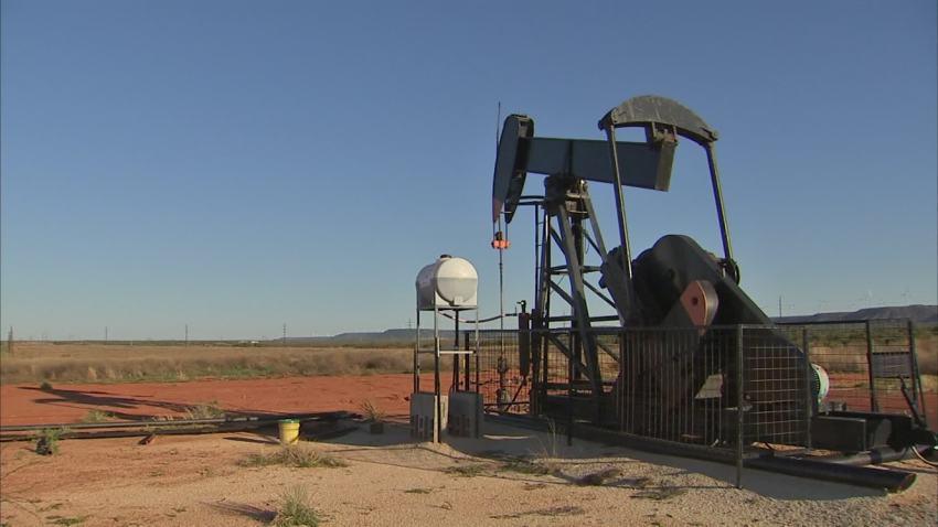 oil field west texas