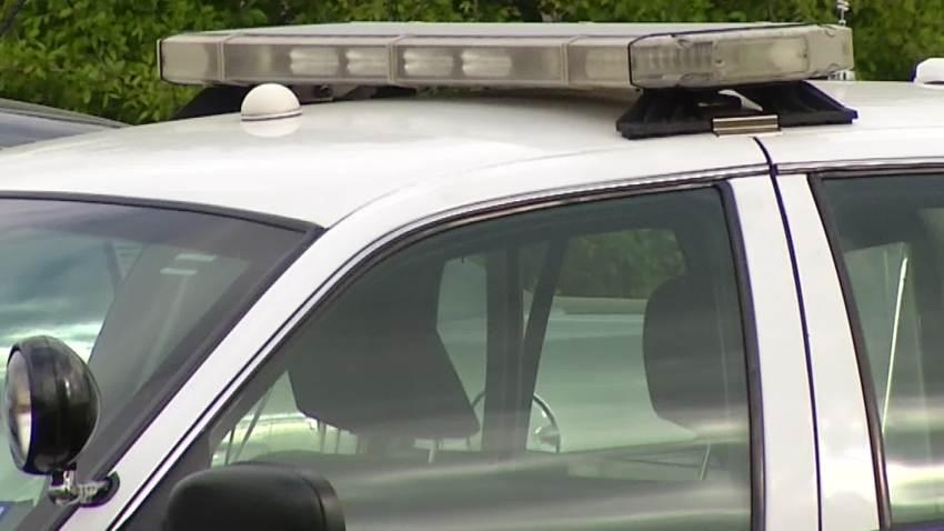 police car police lights