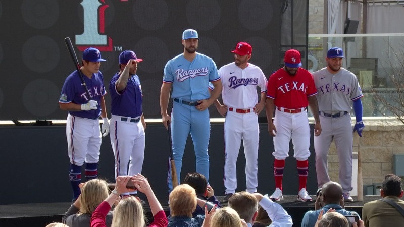 Texas Rangers Unveil New Jerseys for 2020 Season