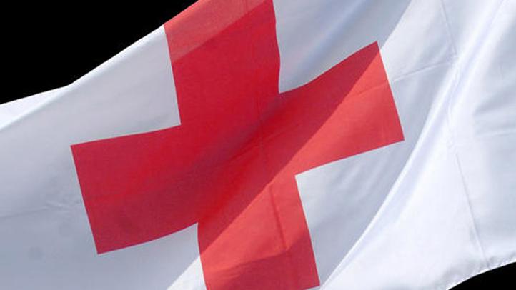 red cross flag