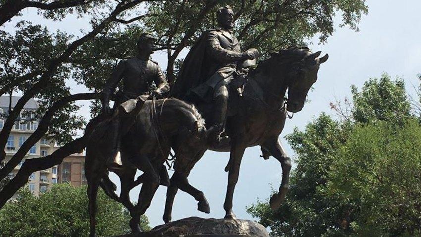 robert e lee park statue confederate dallas