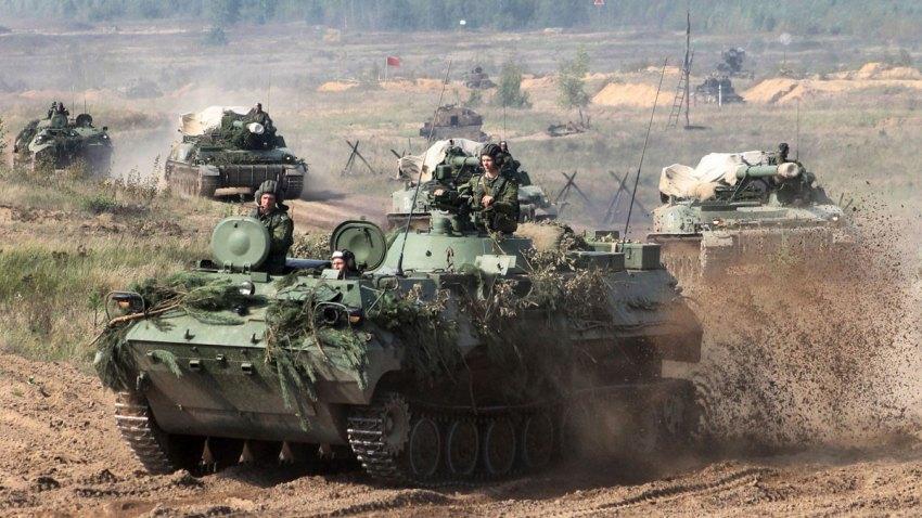 Belarus Russia War Games