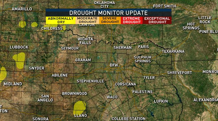 sam 2 Drought monitor update