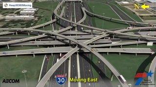 render map of interchange