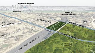 rendering of deck park location