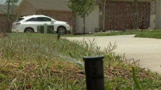 yard water sprinkler
