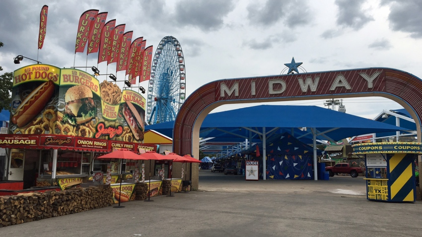 state fair of texas midway 2017