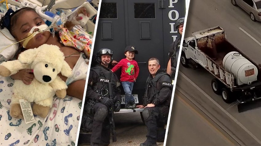 A 10-month-old girl on life support, a boy's generosity and the first chance of winter weather were among the top stories of last week.