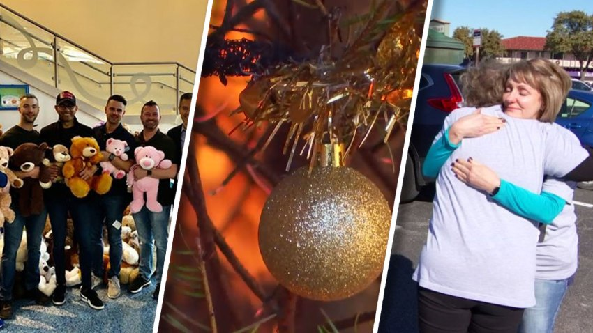 A big donation to children in need, the hidden dangers of holiday decorations and a reunion of a lifetime are some of the top stories of the week.