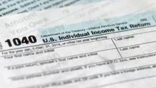 tax return foto