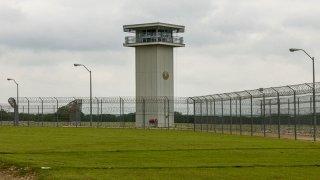 File photo of a Texas prison.