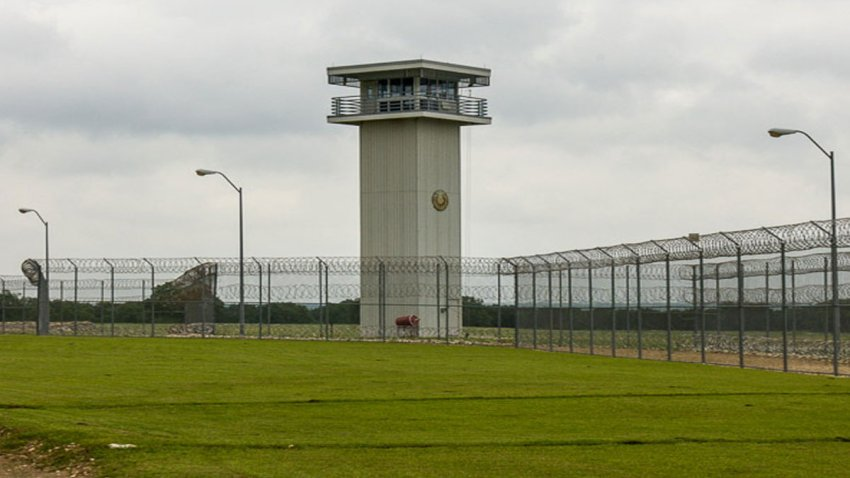 File photo of a Texas prison.