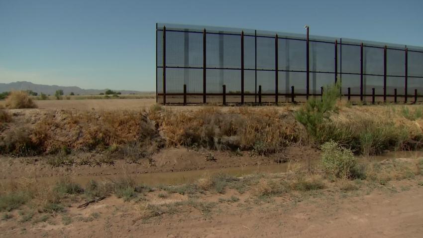 texas border wall end