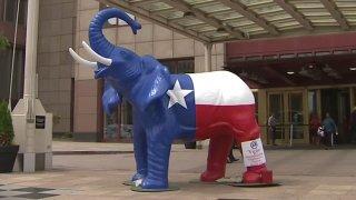texas republican elephant gop