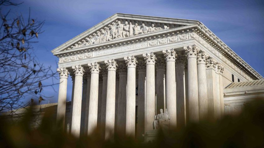 In this file photo, the U.S. Supreme Court building stands in Washington, D.C., U.S., on Tuesday, Jan. 22, 2019.