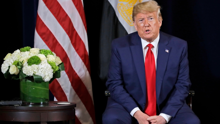 Trump US Egypt