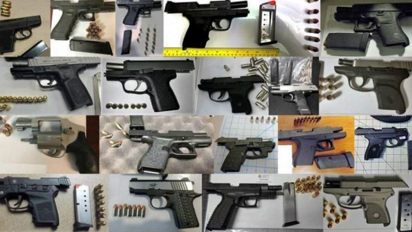 tsa seized guns
