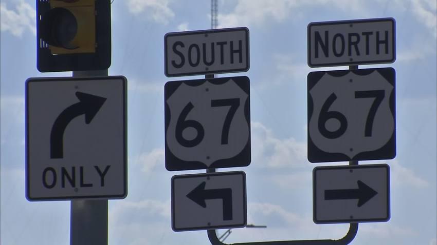us 67 highway dallas